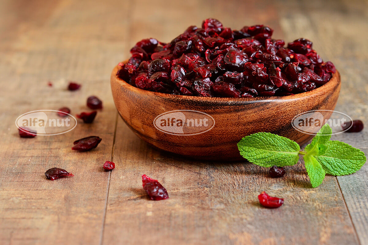 Cranberries κομμένα
