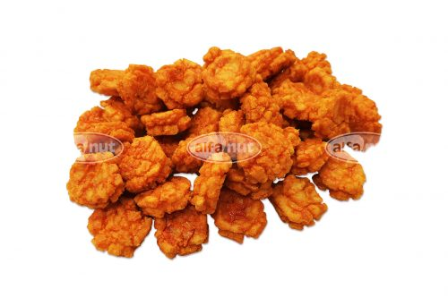 Hot rice crackers